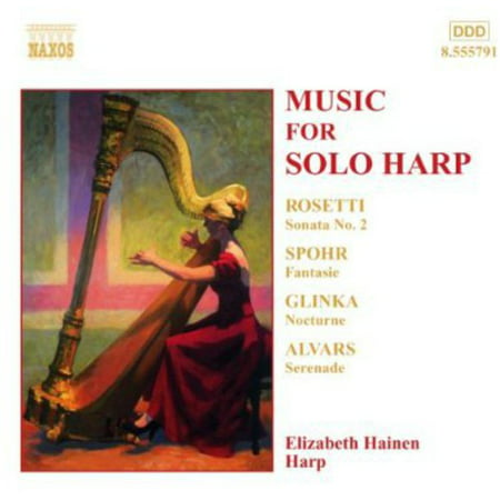 Music for Solo Harp (CD) - French Horn Solo Music