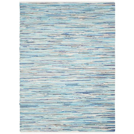 Recycled Rag Rugs - Safavieh Rag Elena Striped Area Rug or Runner