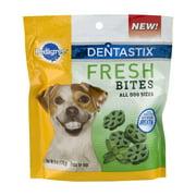 Pedigree Dentastix All Breeds Dental Dog Treats, Fresh Bites, 6 Oz.