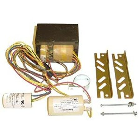 Hid Fixture Quad Tap (Universal Lighting Technologies M50MLTLC3M500K (1) 50 Watt Mogul Metal Halide Lamp Core and Coil Quad Universal HID Ballast Kit 120/208/240/277)
