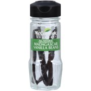 McCormick Gourmet All Natural Madagascar Vanilla Beans, 2 ct