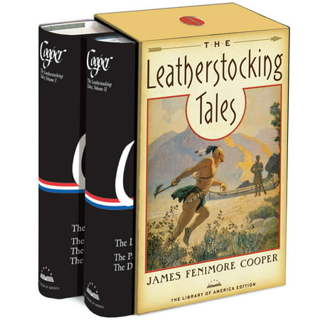 Davinci Library Set - The Leatherstocking Tales : A Library of America Boxed Set