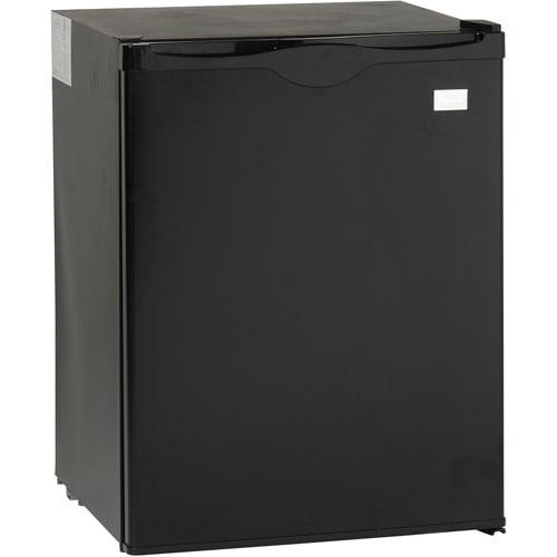 Avanti Model AR2416B - 2.2 Cu. Ft. All Refrigerator - 2.20 ft - Auto-defrost - Reversible - 2.20 ft Net Refrigerator Capacity - Black