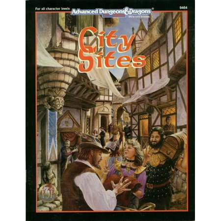 City Sites : Advanced Dungeons and Dragons Accessory