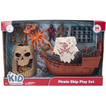Kid Connection Pirate Captain Ship Playset (Bucky Pirate Ship)