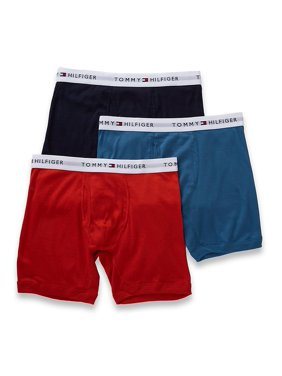 Tommy Hilfiger 09TE001 Basic 100% Cotton Boxer Brief - 3 Pack