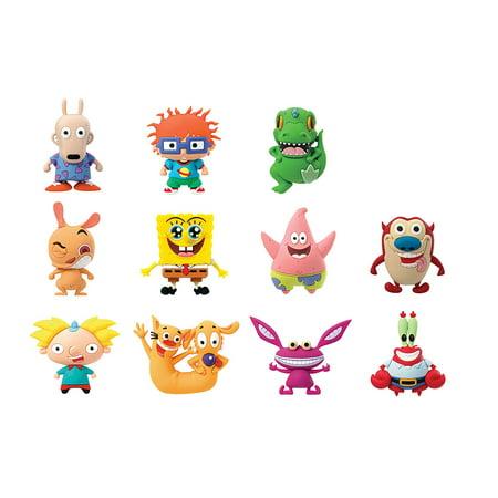Key Chain - Nickelodeon - 3D PVC Foam Collectible Nickelodeon Series 1 63230