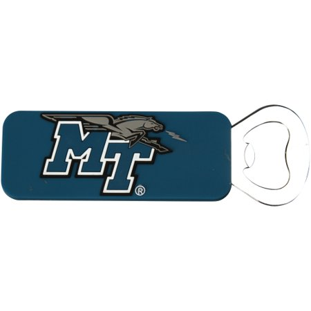 Middle Tennessee State Blue Raiders PVC Magnetic Bottle Opener - No