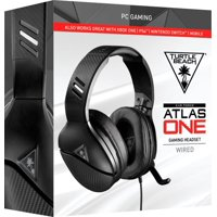 Turtle Beach Atlas One Wired Stereo Gaming Headset for PC - Black