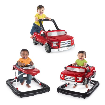 Bright Starts 3 Ways To Play Ford F150 Baby Walker - Bright Starts Pretty In Pink