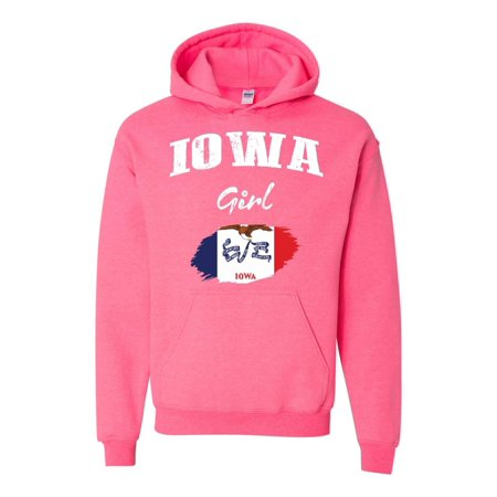 Iowa Girl Unisex Hoodie Hooded Sweatshirt
