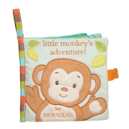 Monkey Activity Book - Baby Stuffed Animals by Douglas Cuddle Toys (6409)