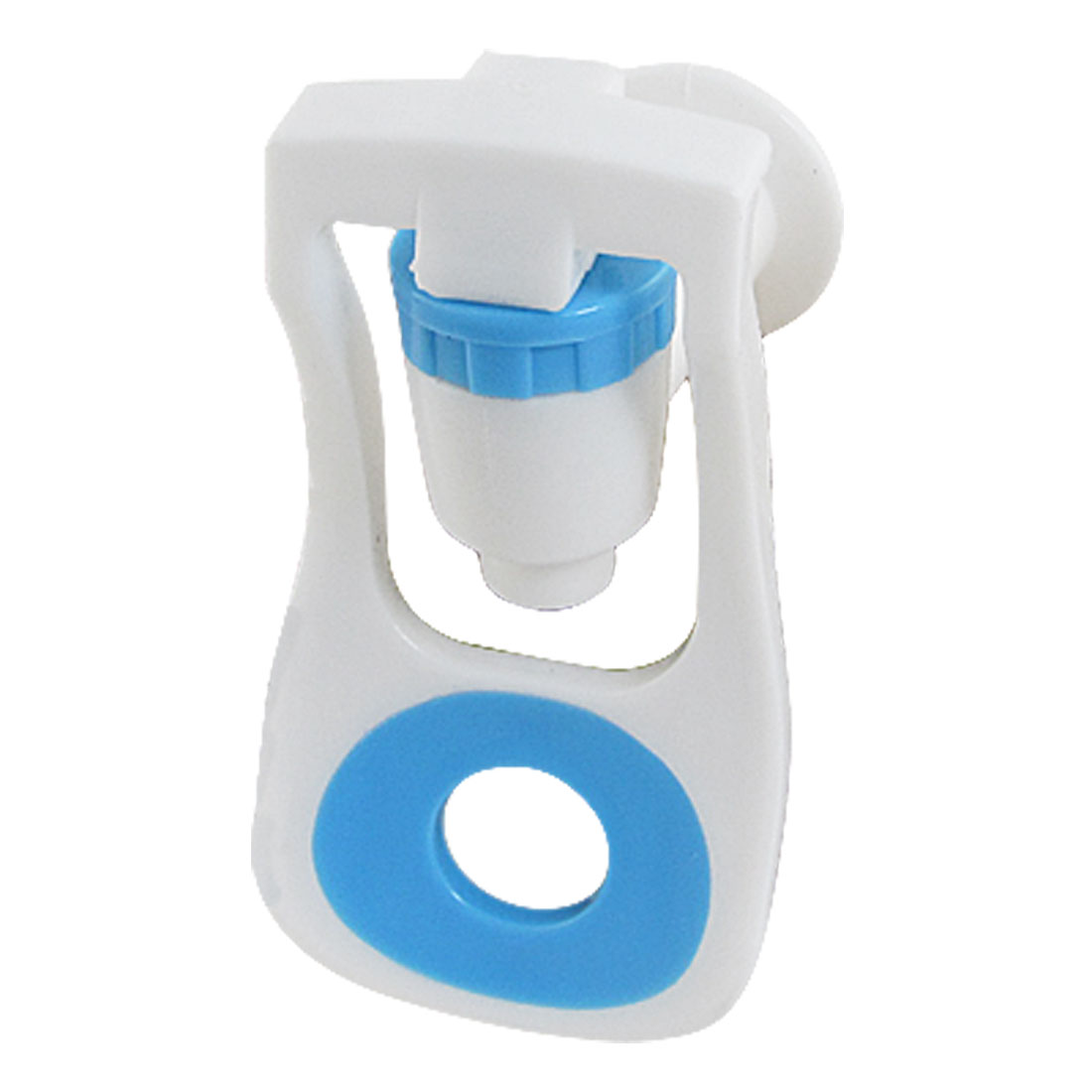 Handle Push Type White Blue Plastic Water Dispenser Tap Opnpq - image 1 of 1