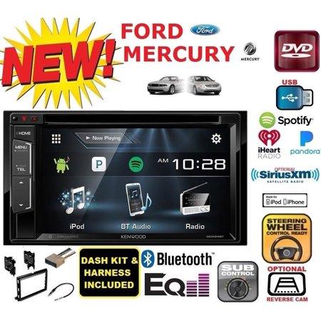 Ford Mercury Kenwood Car Radio Stereo Dvd Cd Usb Double Din Dash Kit