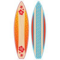 Teacher Created Resources Giant Surfboards Bulletin Board Display Set