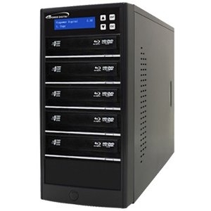 ECON BLU-RAY DVD CD TOWER STAND-ALONE 1:5 DISC DUPLICATOR HDD
