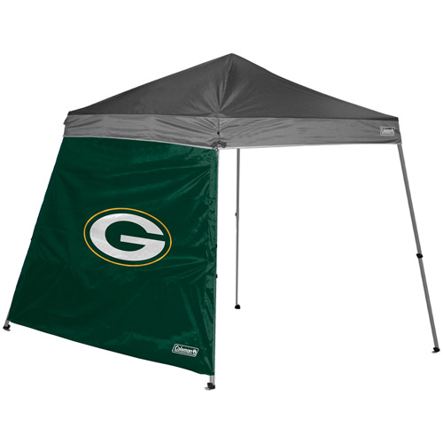 Coleman 10' x 10' Slant Leg Canopy Side Wall, Green Bay Packers