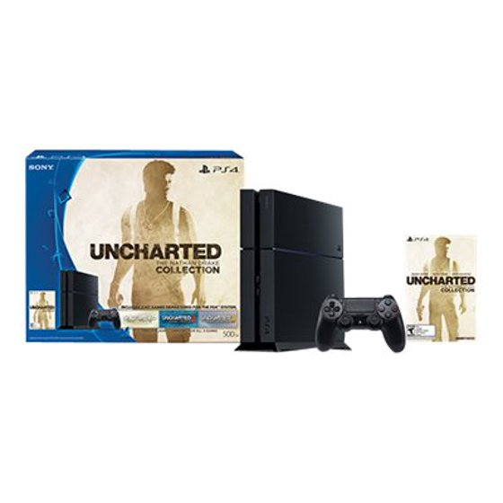 Sony PlayStation 4 - Uncharted: The Nathan Drake Collection Bundle - game  console - 500 GB HDD - jet black