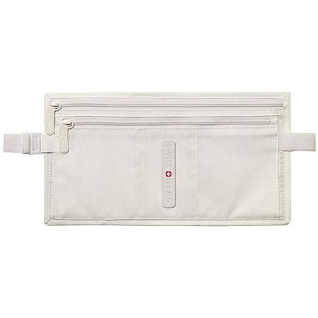 New Swiss Money Belt Double Pocket Waist Bag Pouch Travel Hidden Security Wallet