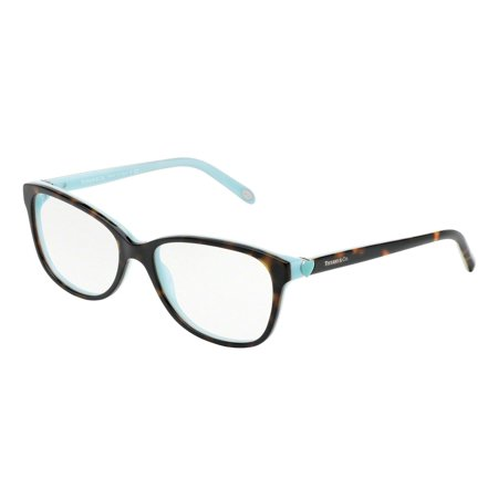 c6e7ecba7842 Tiffany Optical 0TF2097 Full Rim Square Womens Eyeglasses - Size 54 (Havana  Blue   Clear Lens) - Walmart.com
