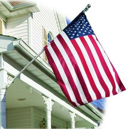 U.S. Flag Store American Embroidered Banner Nylon 3 x 5 ft. Flag