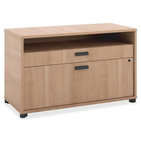 Basyx By Hon Manage Series Wheat Office Furniture Collection   30  Width X 16  Depth X 22  Height   2 X Pencil  File Drawer S    Wheat  Laminate  Mg36fdwha1