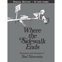 Where the Sidewalk Ends: Poems & Drawings (Anniversary) (Hardcover)