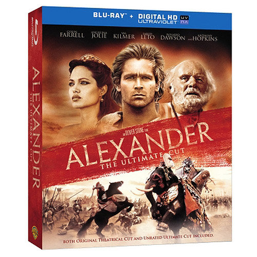 Alexander: The Ultimate Cut (Blu-ray + Digital HD + Book) (With INSTAWATCH) (Widescreen)