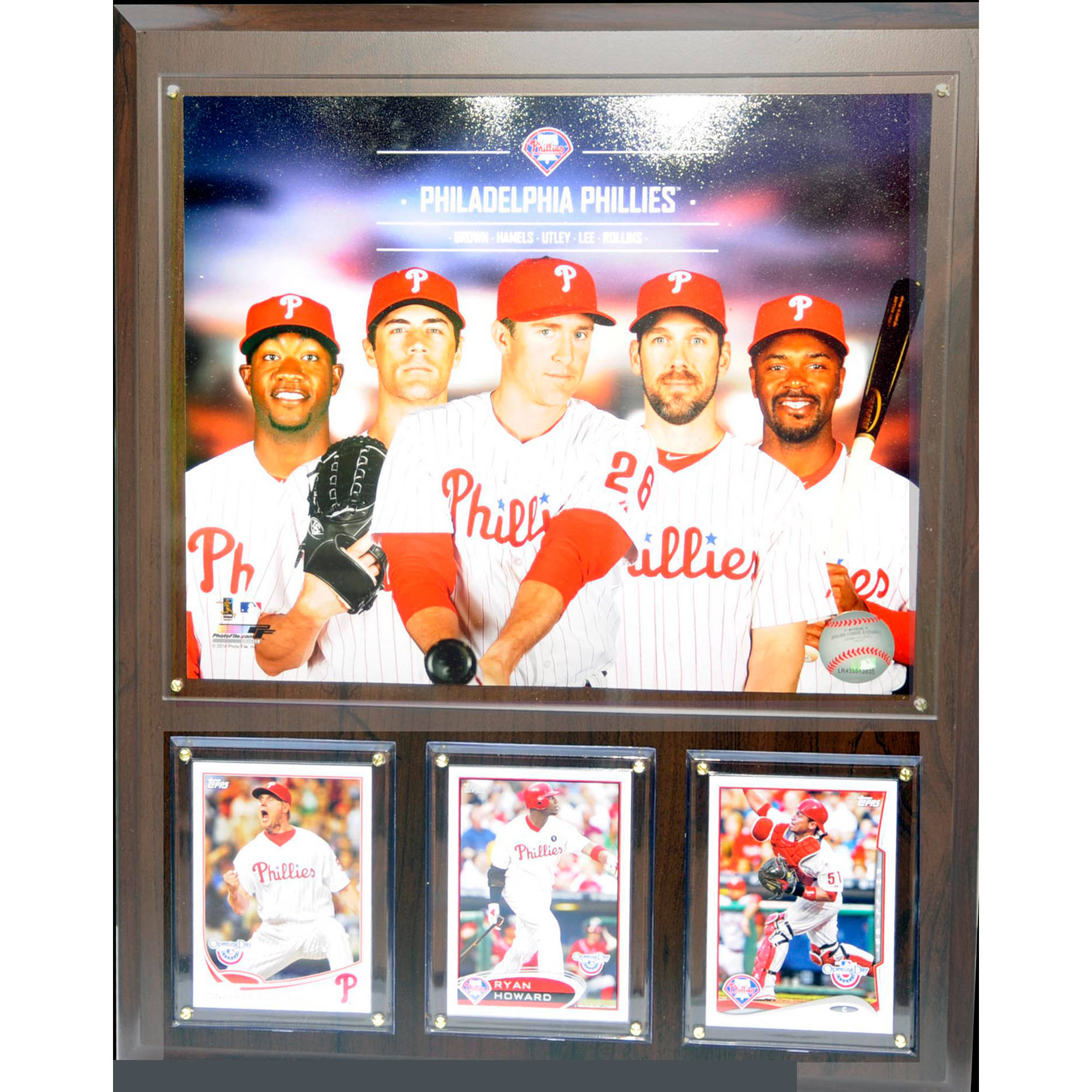 C&I Collectables MLB Philadelphia Phillies 2014 Team Plaque