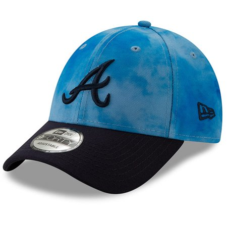 competitive price bd347 ce70b Atlanta Braves New Era 2019 Father s Day 9FORTY Adjustable Hat - Blue Navy  - OSFA - Walmart.com