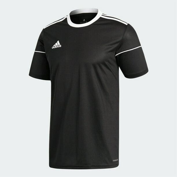 Adidas Squadra 17 Men's Soccer Jersey BJ9173 Black - Walmart.com ...