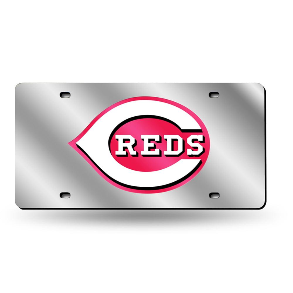 Cincinnati Reds MLB Laser Cut License Plate Tag