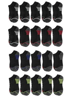 Tony Hawk Boys Socks, 20 Pack No Show Socks Sizes 6 - 11