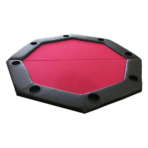 JP Commerce Padded Octagon Folding Poker Table Top by
