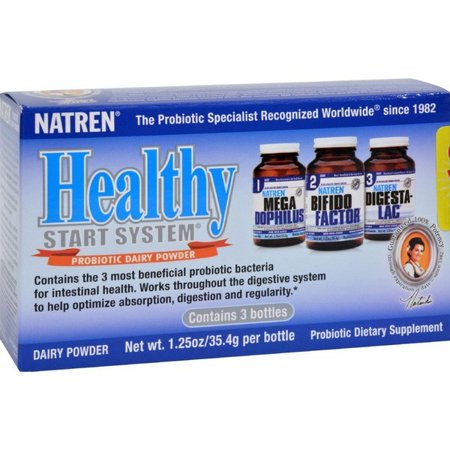 Natren Healthy Start System With Dairy - 1 Pack - Natren Healthy Start System