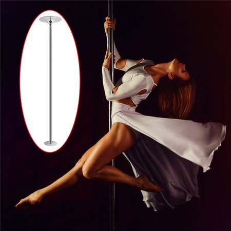 Portable 9ft 1.8inch Dancing Pole Kit for Sport Exercise Club Party Pub Home