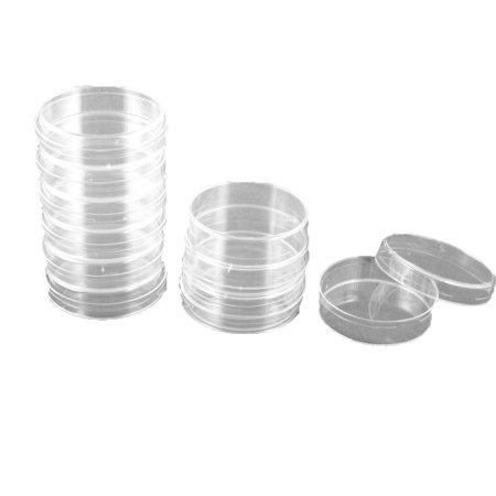 10pcs 60mm Dia plast Transparent Forme Cylindre Bo te Culture cellulaire - image 1 de 1