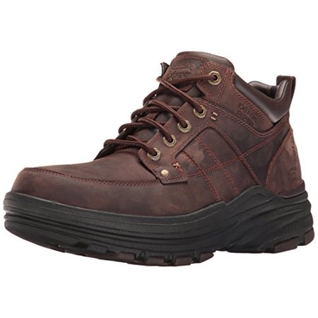 Skechers USA Men's Holdren Lender Chukka Boot, Dark (Skechers Usa Mens Holdren Brenton Chukka Boot)