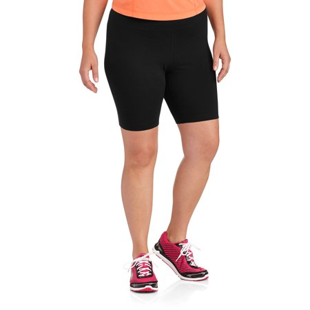 Danskin Now Women's Plus-Size Cotton Bike Short