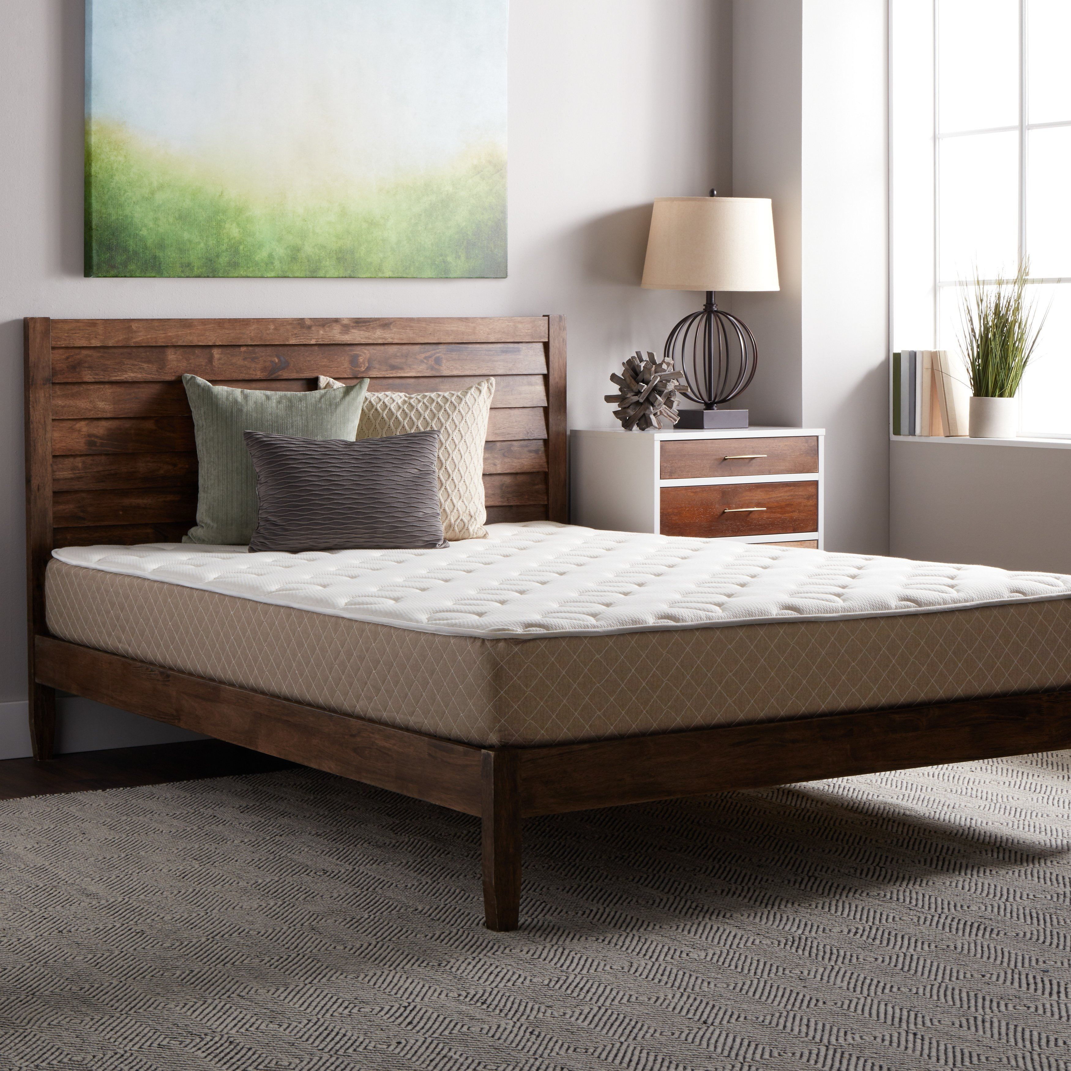 Select Luxury  Guest Room Medium-firm Twin-size Quilted Top 10-inch Foam Mattress