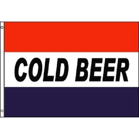 Cold Beer Store (COLD BEER Flag Bar Advertising Banner Party Pennant Store Sign 3x5 )