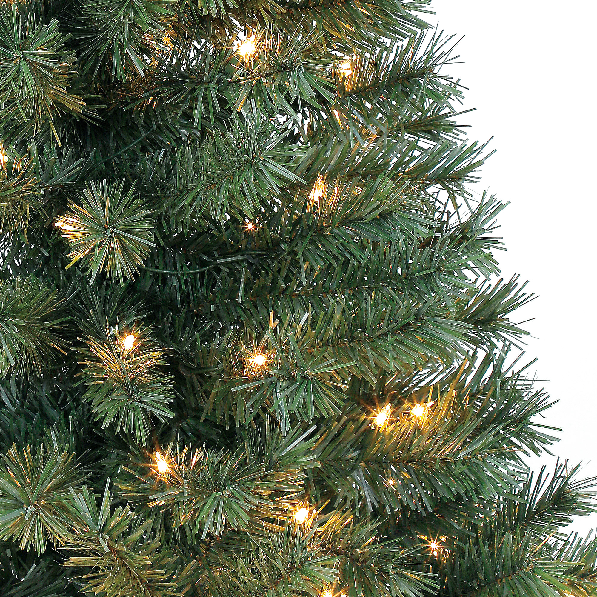Pre Lit 4 Foot Christmas Holiday Indiana Spruce Indoor ...