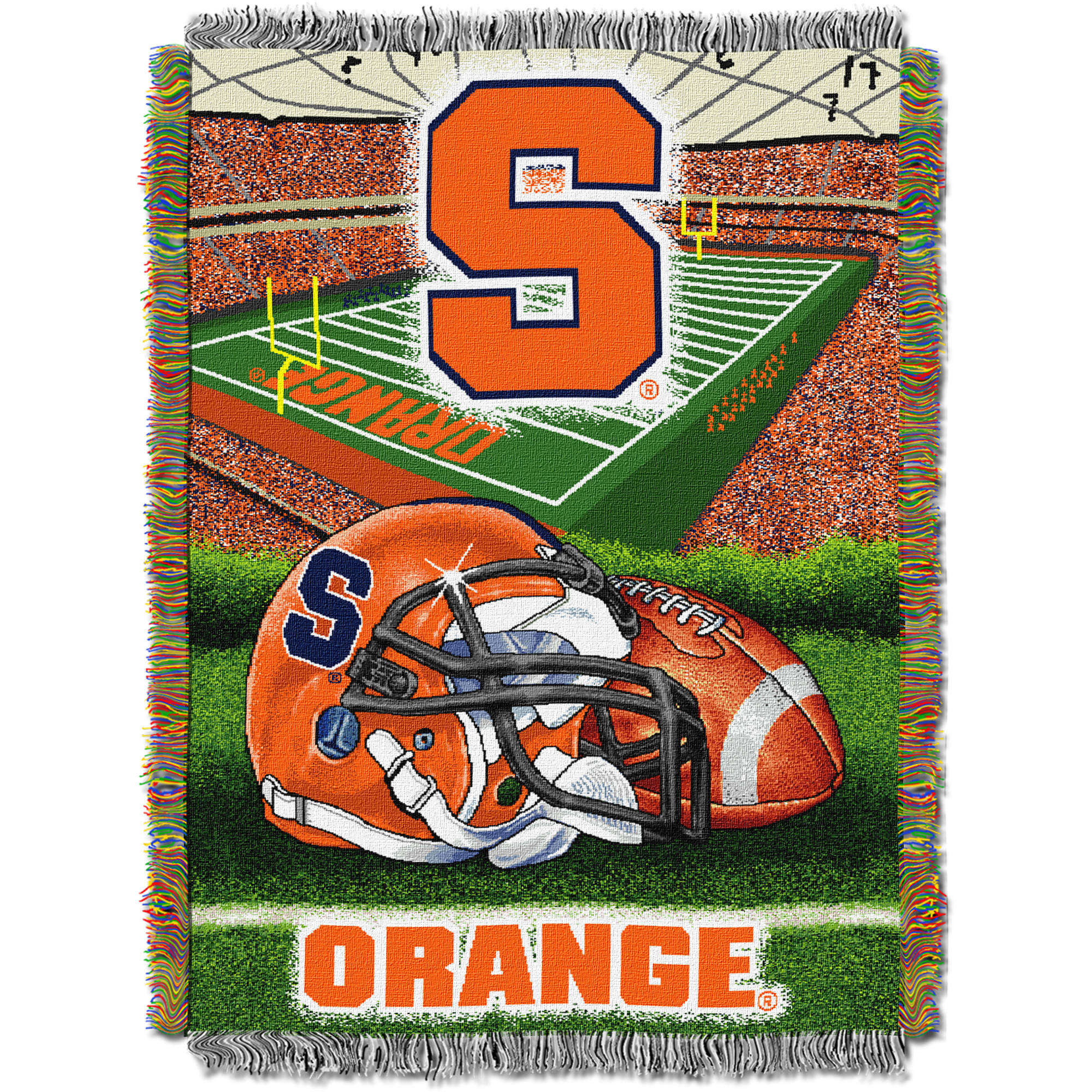 "NCAA 48"" x 60"" Tapestry Throw Home Field Advantage Series- Syracuse"