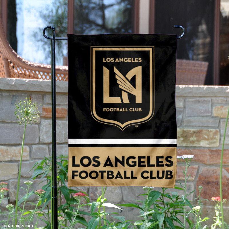"LAFC 12.5"" x 18"" MLS Garden Flag"