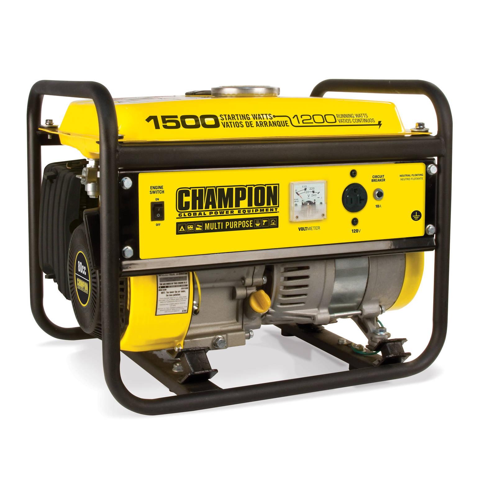 Champion 100490 1200-Watt Portable Generator by Champion Power Equipment