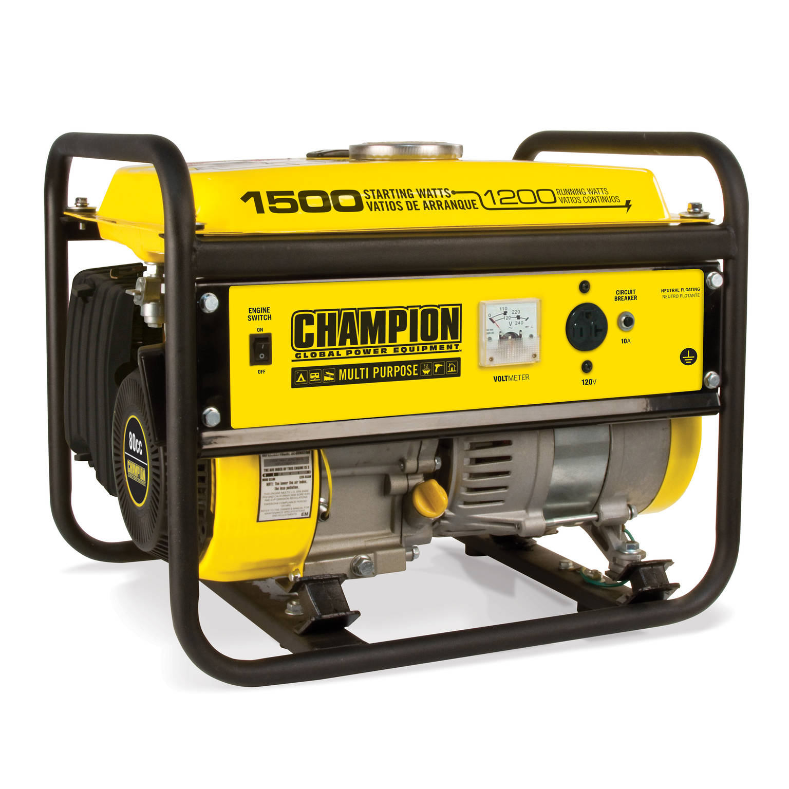 Champion 100490 1200-Watt Portable Generator