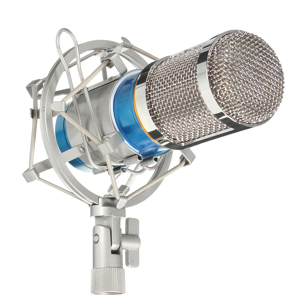 BM800 Pro Condenser Microphone Kit, Studio Recording Microphone with Shock Mount Holder, Audio cable, BOP cover