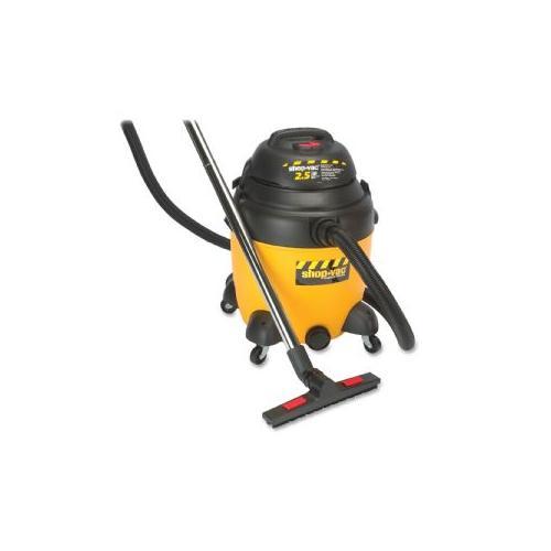 SHOP-VAC CORP Vacuum, Industrial, Wet/Dry, 12G, 2.5HP, 35' Cord, YW/BK