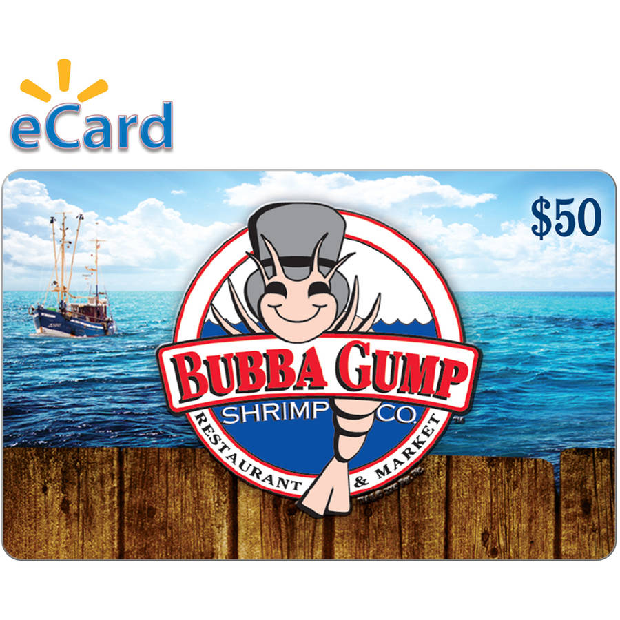 Bubba Gump Shrimp Co.$50 (Email Delivery)