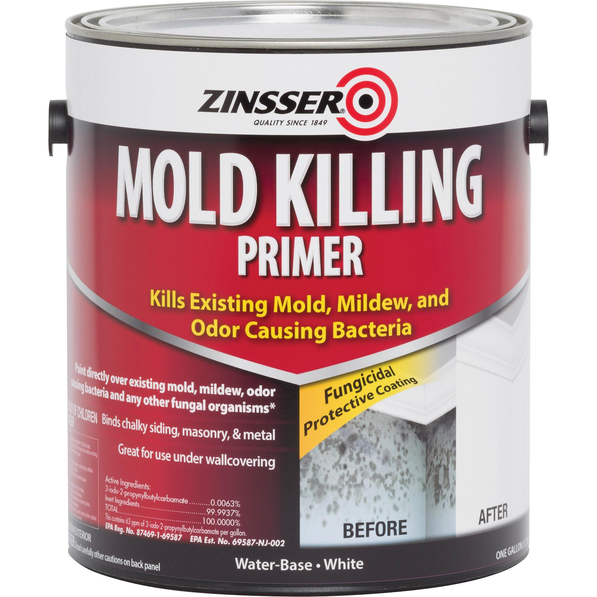 Zinsser, RST276049, Mold Killing Primer, 1 Each, White
